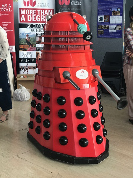 Moving Robotic Dalek